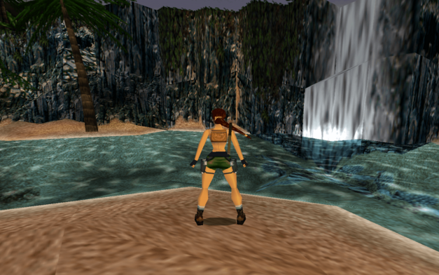 Lara Croft in Tomb Raider III