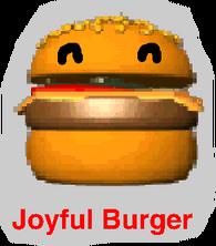 Joyful Burger Logo 2010