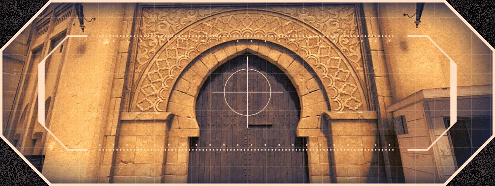Mirage map Counter-Strike door plasterwork