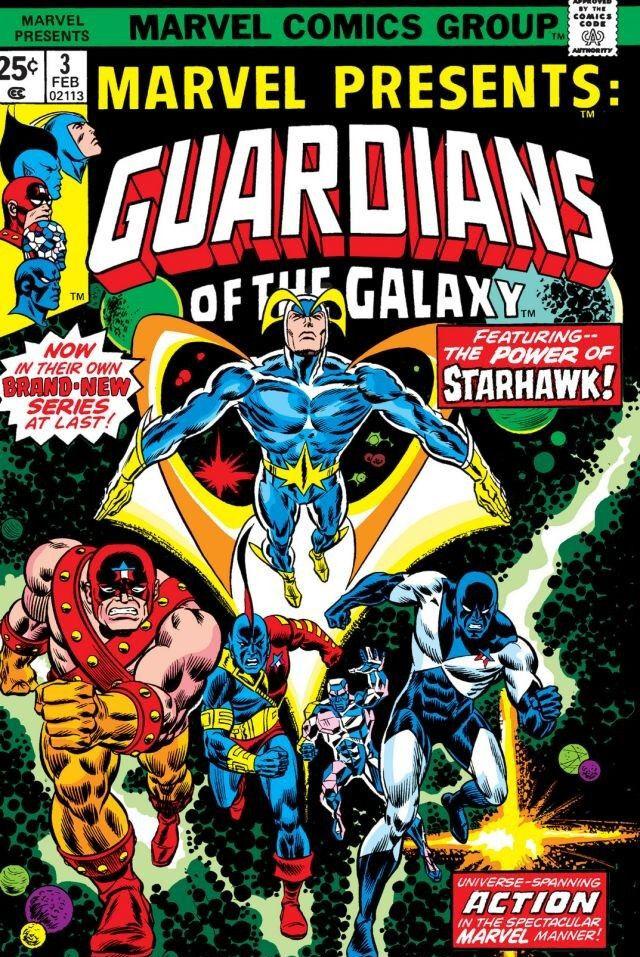Marvel guardians of the galaxy starhawk