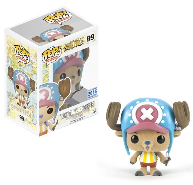 SDCC 2016 Funko Pop Vinyl Funimaton One Piece Tony Tony Chopper