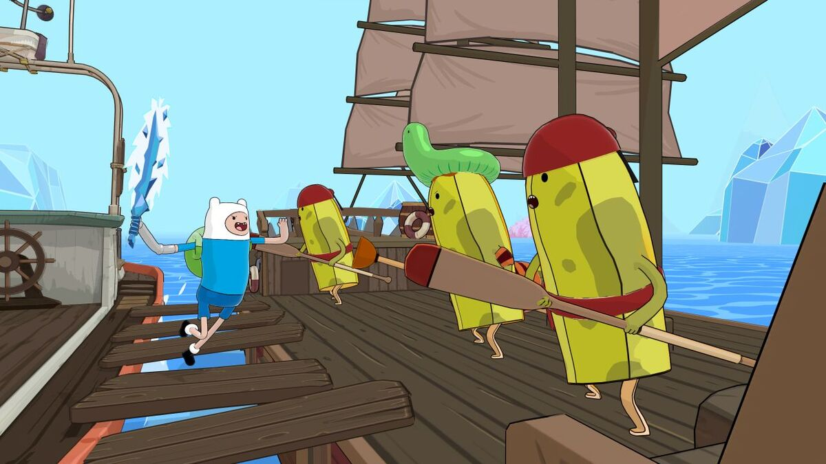 Adventure Time: Pirates Of The Enchiridion Battle