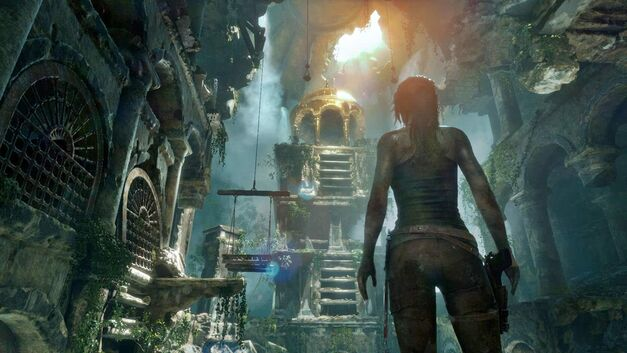 Temple in Rise of the Tomb Raider