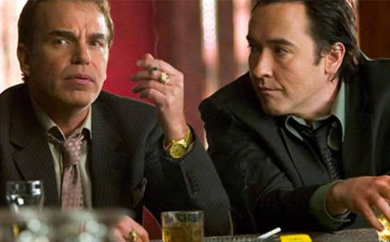 Thornton and Cusack discuss their heist in The Ice Harvest.