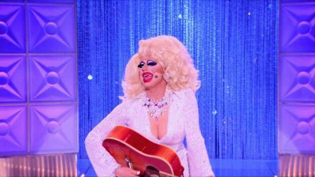 RuPaul's Drag Race Trixie Mattel as dolly parton