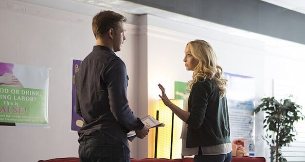 Caroline and Alaric