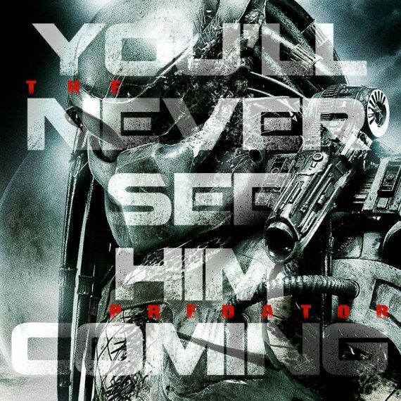the predator teaser poster