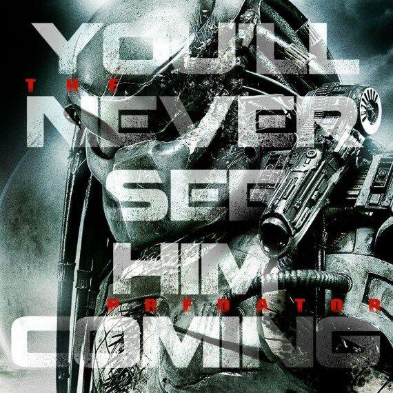 the predator teaser poster