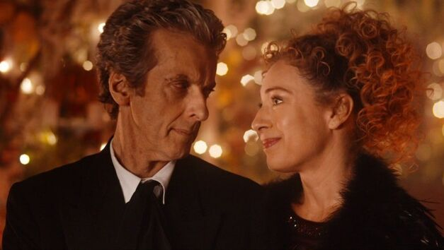 The Husbands of River Song Twelfth Doctor River Song