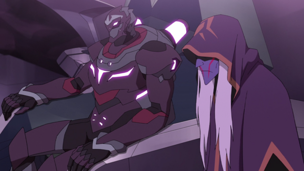 Zarkon with Haggar by his side