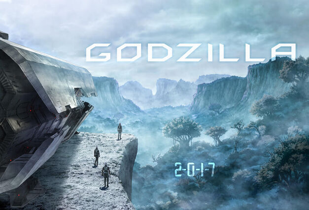 new Godzilla anime movie