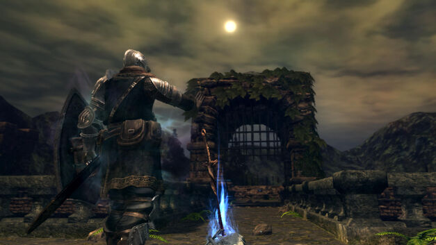 A screenshot of Dark Souls for PC.