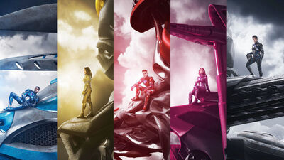 Power Rangers: Looking the Part