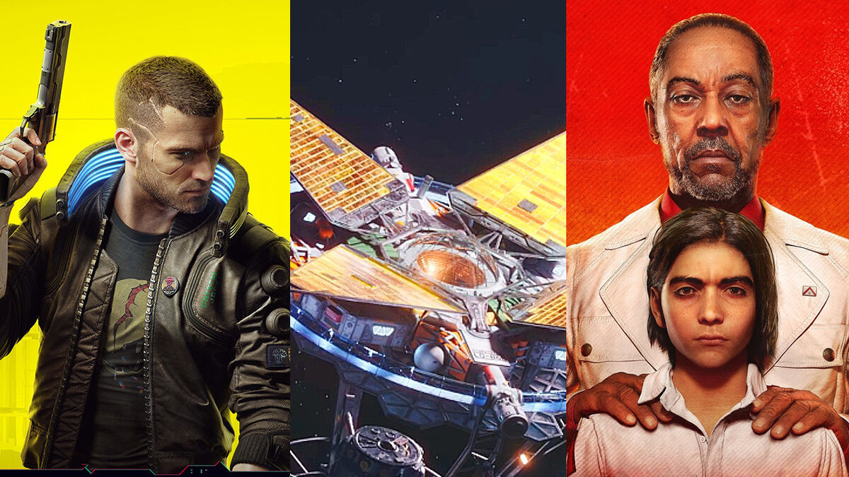 Cyberpunk 2077 Starfield Far Cry 6