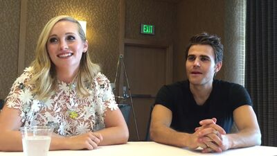 'The Vampire Diaries': Candice King and Paul Wesley Interview