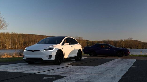 Top Gear Tesla X