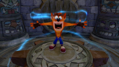 'Crash Bandicoot N. Sane Trilogy' - New Gameplay of Hang Eight Level in HD