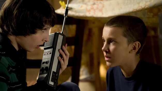 Stranger Things - Mike and Eleven
