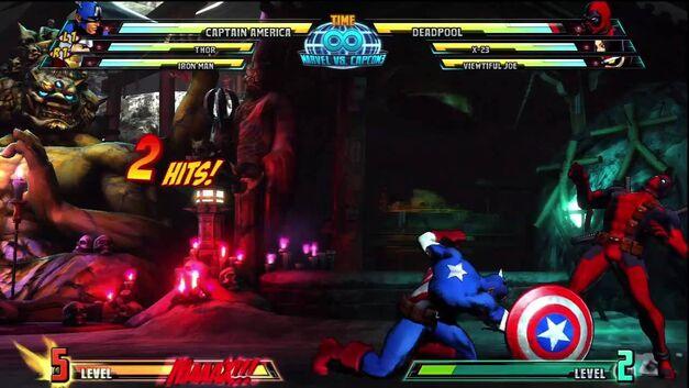 Captain America MvC