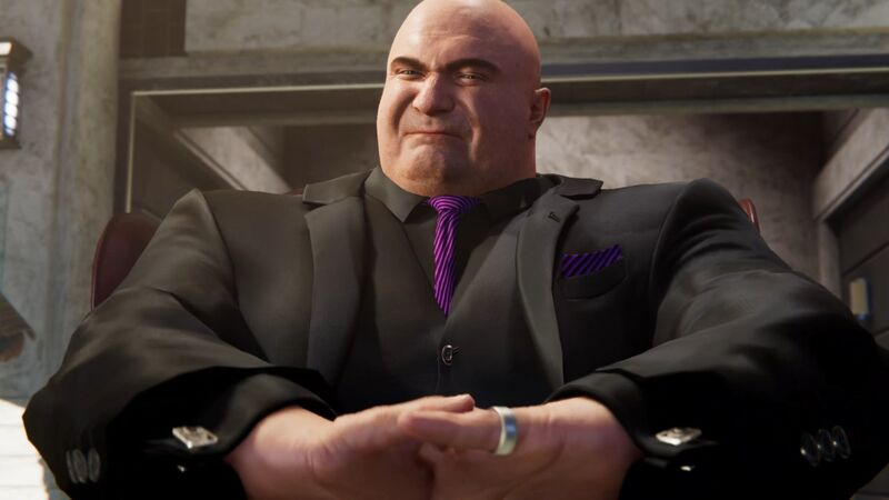 Image result for spider man ps4 wilson fisk