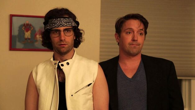 Kyle Mooney and Beck Bennett on Saturday Night Live