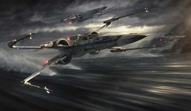 The Force Awakens - X-Wing