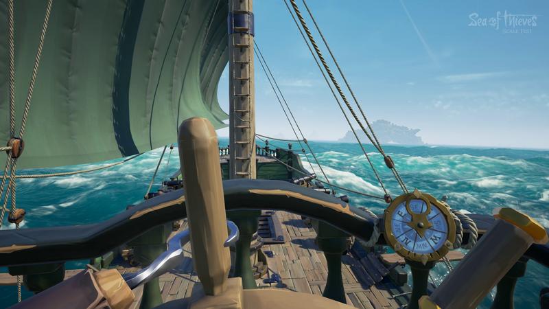 sailing on the open seas