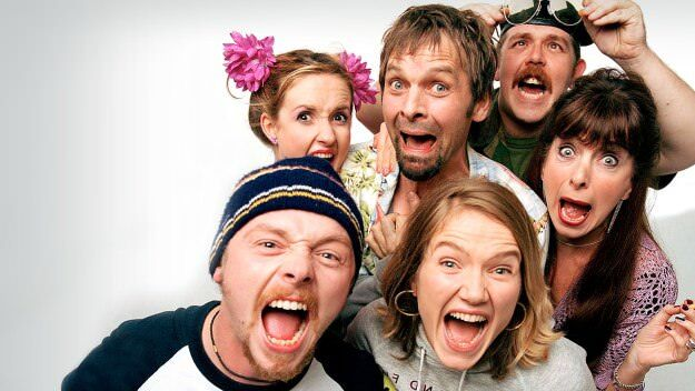 spaced cast yelling