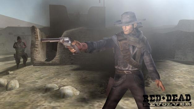 A screenshot of Red Dead Revolver