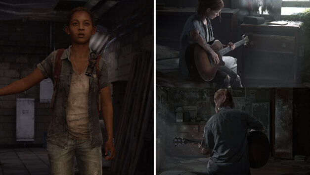 The Last of Us Riley vs The Last of Us Part 2 Ellie
