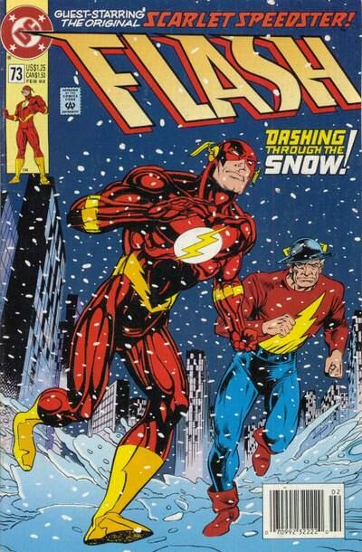 Flash #73 comic cover