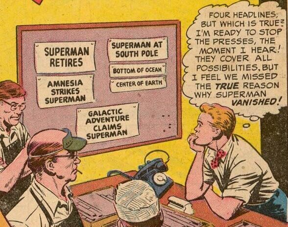 Jimmy Olsen #4 - Disappearing Superman