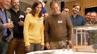 Watch Matt Damon and Kristen Wiig Shrink in 'Downsizing' Trailer