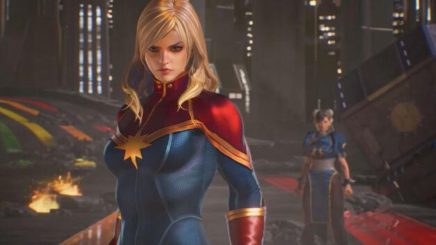 Captain Marvel – Marvel vs Capcom Infinite Roster