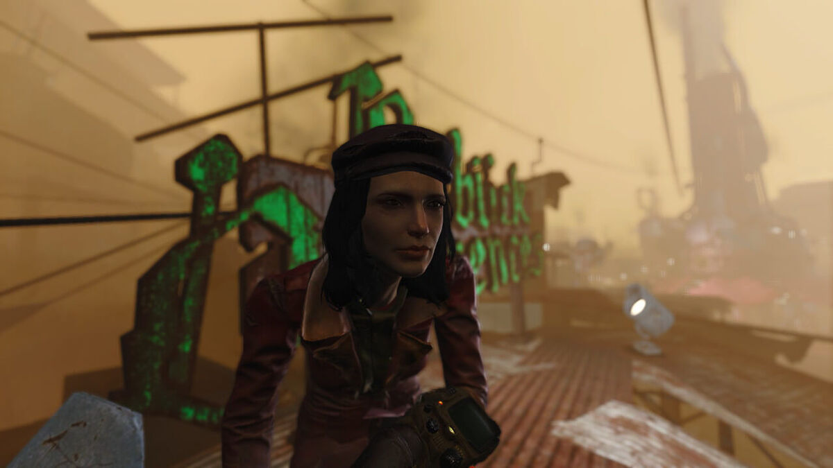 Playable Piper in Fallout 4