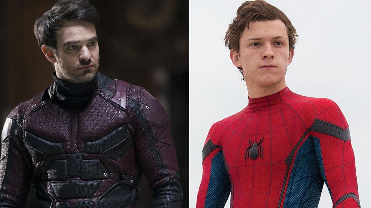 Resultado de imagem para daredevil and spider man mcu