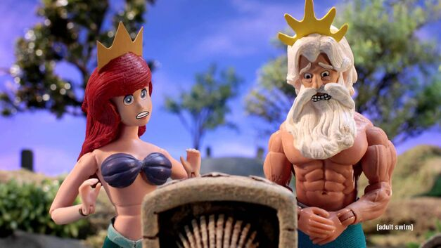 robot chicken little mermaid