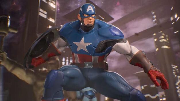 Captain America – Marvel vs Capcom Infinite Roster