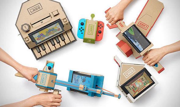 • Release Date: April 20  • Developer: Nintendo  • Platform(s): Nintendo Switch (peripherally)   • Genre: Interactive Model Kit