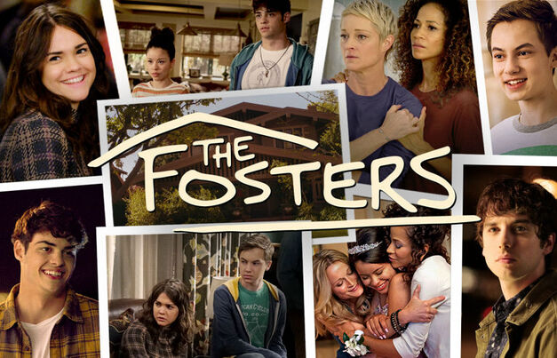 the fosters cast pics