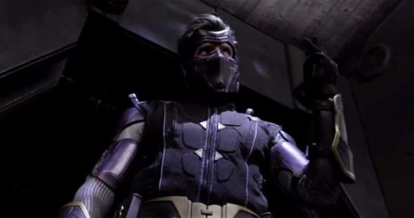 Colin King aka Ninjak played by Michael Rowe in ninjak-vs-the-valiant-universe