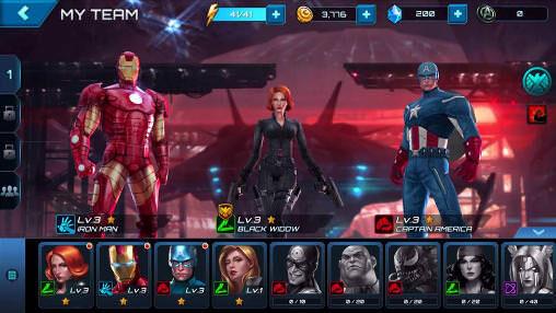marvel future fight team building