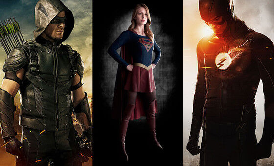 Arrow, Supergirl, Flash