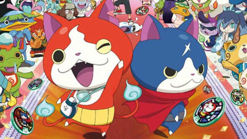 anime for beginners kids Yo-Kai Watch