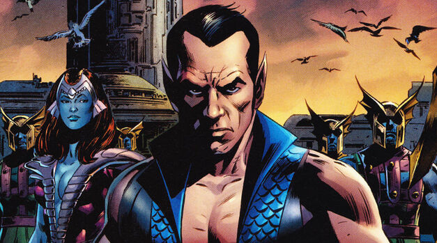 Marvel comics Namor-the-Sub-Mariner