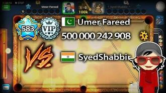 SYEDSHABBIR 8 BALL POOL INDIRECT HIGHLIGHTS VS UMER FAREED