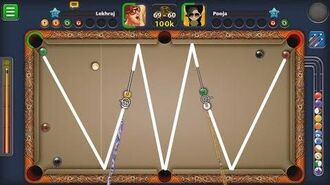 8 BALL POOL LEKH 8BP VS POOJA - AWESOME SHOTS