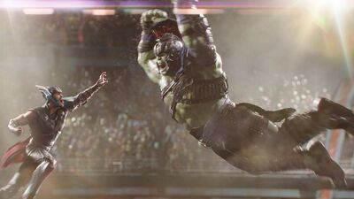 'Thor: Ragnarok' VFX Supervisor Jake Morrison Loved Making Hulk Fight Thor