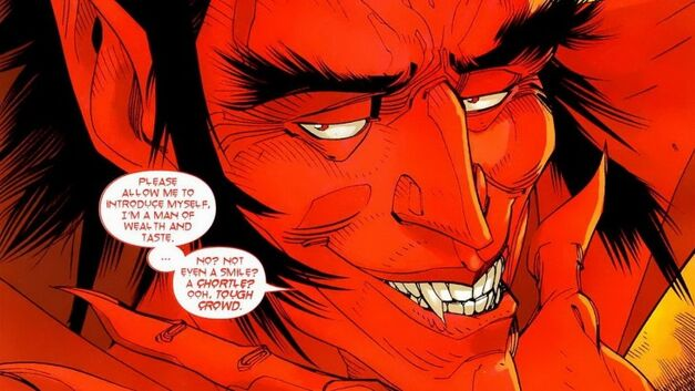 marvel the defenders villain mephisto