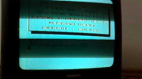 COMMODORE 64 MÓWIĄCE PO POLSKU COMMODORE 64 SPEAKING POLISH - BLACK BOX V 8